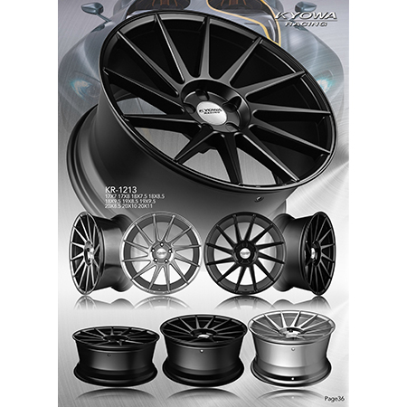 Sport Alloy Wheels - 10-1,KR 1213