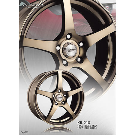 Lightweight Alloy Rims - 7-3,KR210